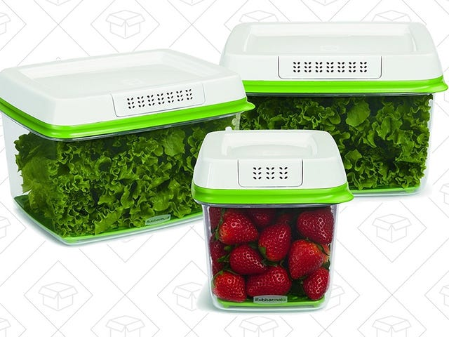 Grab These Best-Selling Rubbermaid FreshWorks Containers Before They Sell Out