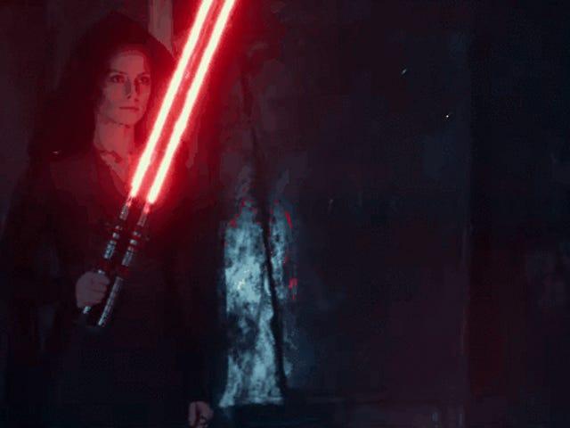 Rey's New Lightsaber είναι η αιχμή του Foldy-Gadget Hype
