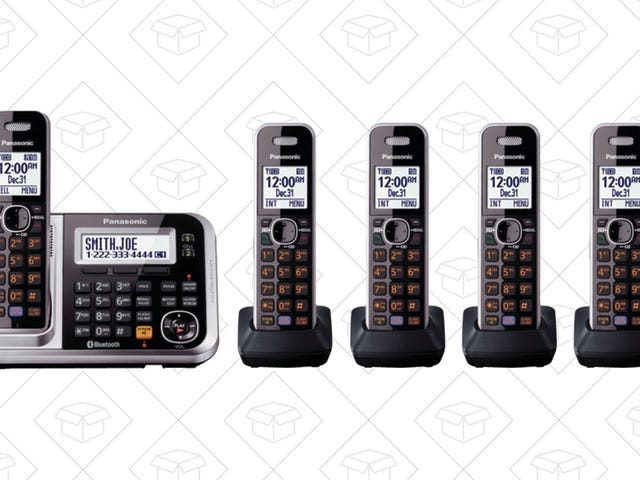 Upgrade Your Home Phone (If You Still Have One) With These Discounted Panasonic Handsets