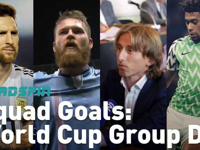 (거의) 월드컵 D 조에 대해 알아야 할 모든 것 (거의) 1 분