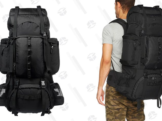 Buy Yourself A Hiking Backpack For Just $40