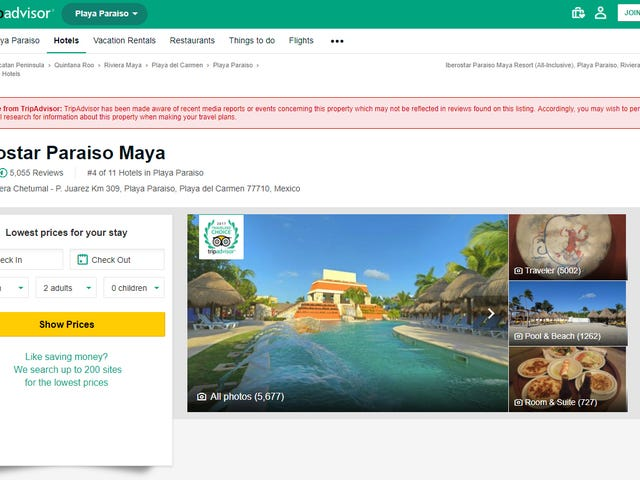The FTC May Be Looking Into Tripadvisor After It Deleted Reviews Alleging Rape, Suspicious Deaths