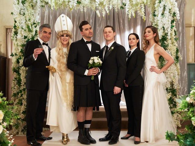Schitt's Creekは、Emmysで4つの演技カテゴリすべてを一掃する最初のTVシリーズです