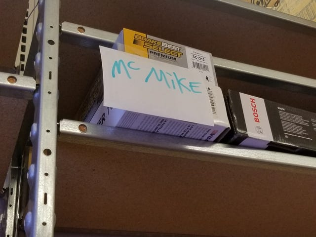 Came into work and found this on the order shelf