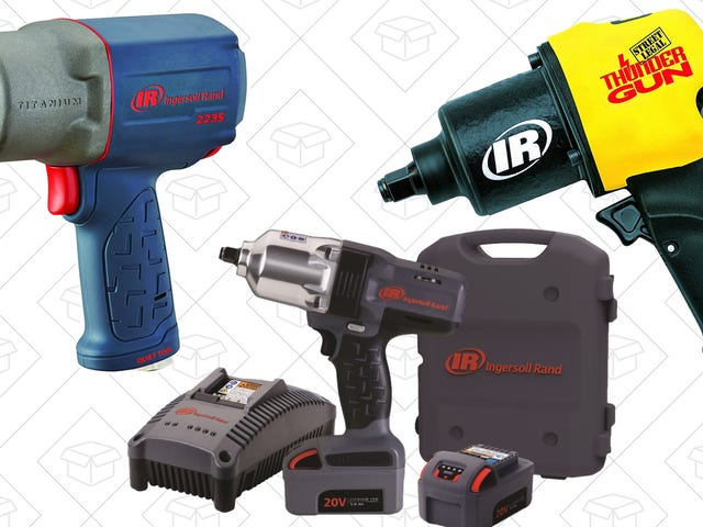 A Bunch of Air-Powered Impact Tools Are Cheaper Than Ever, Today Only On Amazon