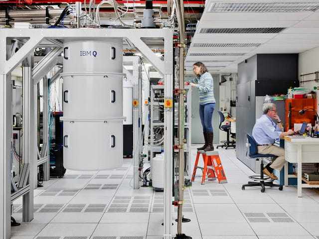 Det er nå en påvist måte for kvantedatamaskiner å slå klassiske datamaskiner med en fangst