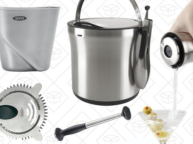 Get Through Holiday Family Time With Sales on All of OXO's Cocktail Equipment