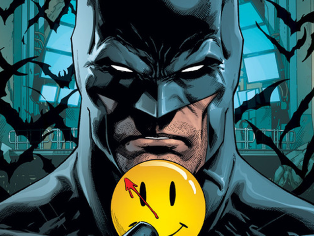 Batman och Flash jobbar för att avslöja DC Rebirths Watchmen Mystery