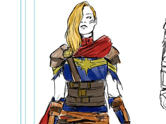 Captain Marvel's Getting a Badass, Post-Apocalyptic New Look