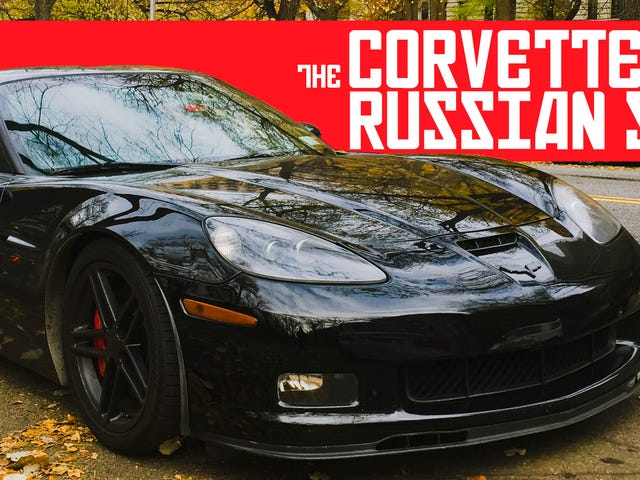 How I Reunited With My Spy Car, The Double Agent Corvette