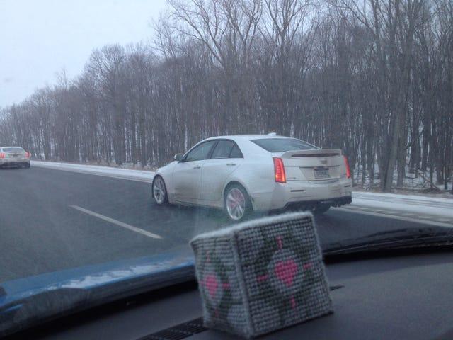 Cadillac Terlihat