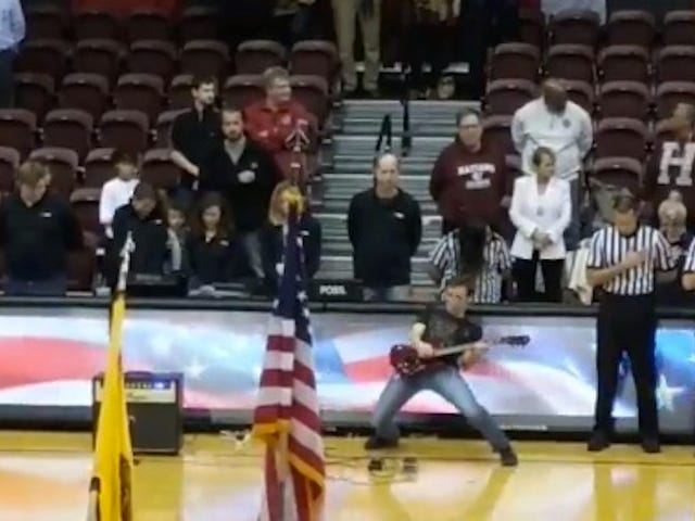Electric Guitar National Anthem Is The Best National Anthem