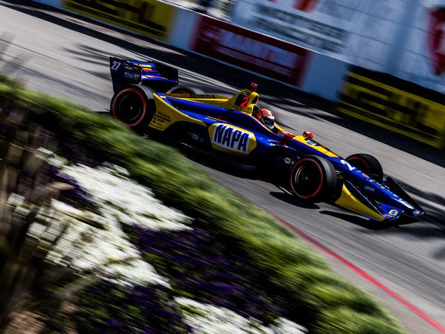 Alexander Rossi Wins Pole For The Long Beach Grand Prix And Here Are Some Highlights