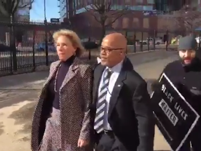 Betsy DeVos Turned Away From School by Protesters Yelling 'Shame'