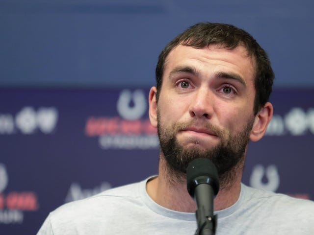 What Should Andrew Luck Do With His Superpower Of Making Dumb People Mad?