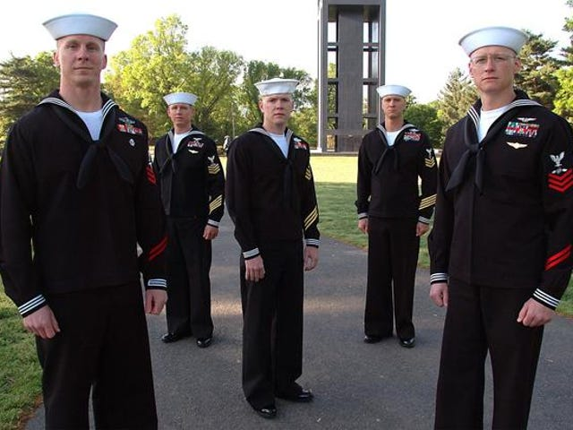 In the Navy!