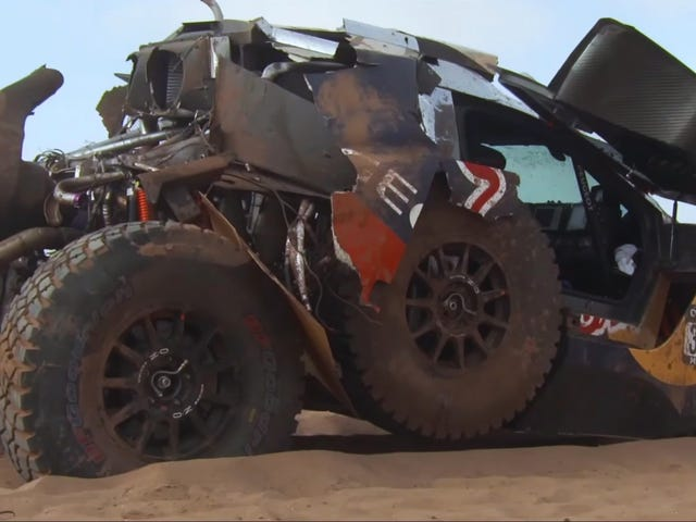 This Diesel Buggy Was Completely Trashed And Somehow It Won The Race