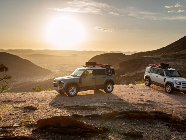 The 2020 Land Rover Defender Kaokoland Expedition: Epic Images Only