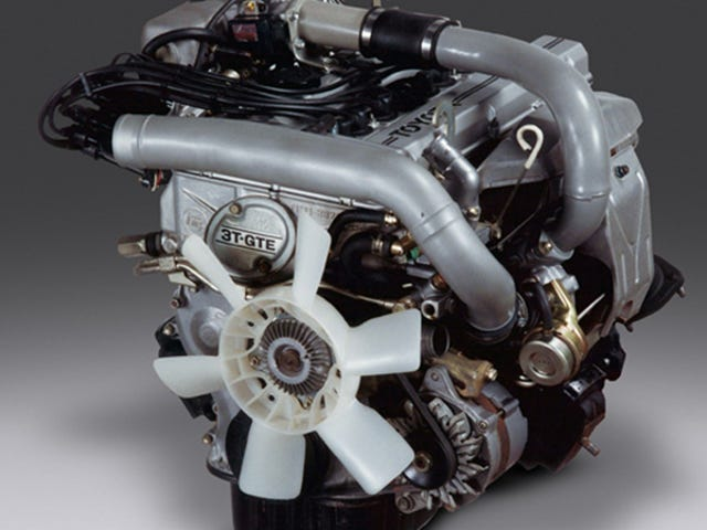 Get a Load of This Weird Toyota Engine