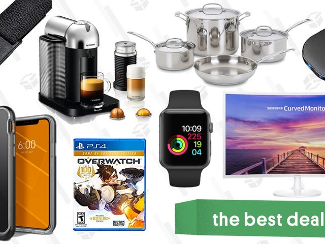 Thursday's Best Deals: Samsung Monitors, Apple Watch, Magnetic Belts, and More