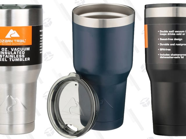 Keep Your Drinks Hot or Cold For Hours With These $9 Tumblers