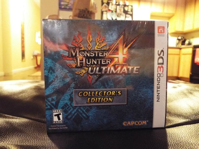 Monster Hunter 4 Ultimate CE: Unboxing!!