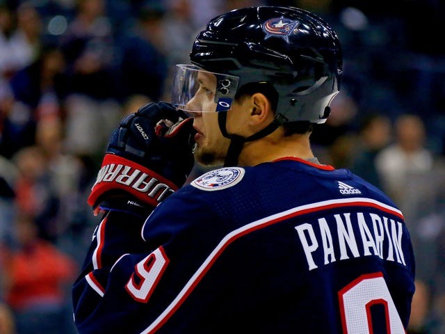 John Tortorella Insists That Artemi Panarin's Only Out Tonight Because He's Shitting And Puking