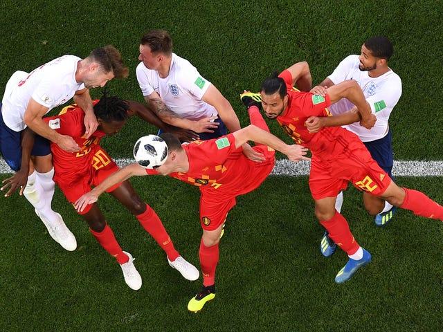 England Score Big Win By Losing To Belgium