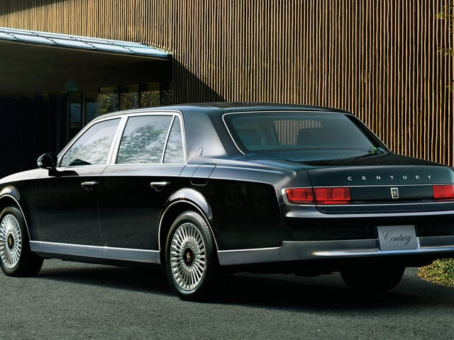 Japan's 126th Emperor Too Cool for a Top, Orders First-Ever Toyota Century Convertible
