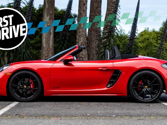 The 2018 Porsche 718 Cayman And Boxster GTSFeel Like Baby Supercars