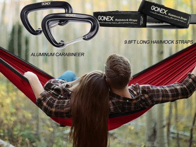 Take Advantage Of The Weather With a $20 Camping Hammock