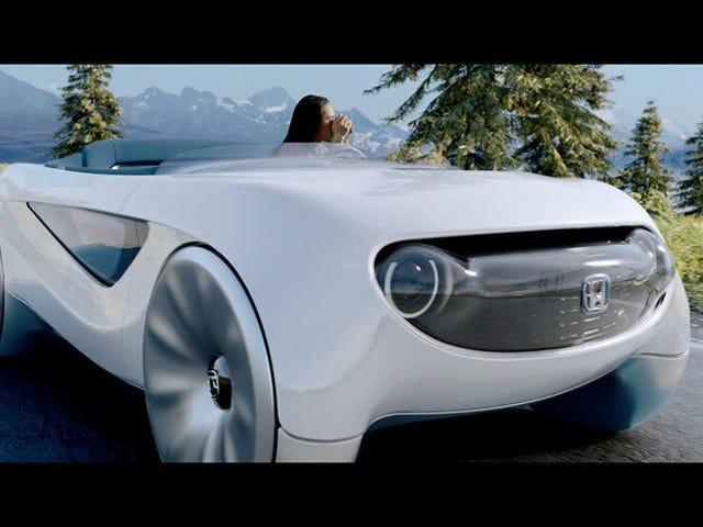 Honda Está Trazendo Um Carro Autônomo Para A CES
