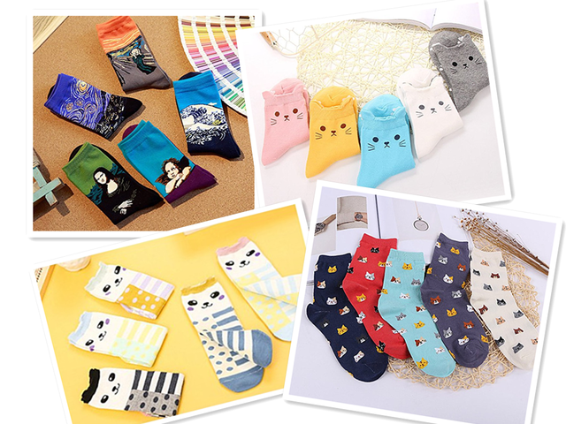 These Socks You Can't Missed, Now Sold From $8.99