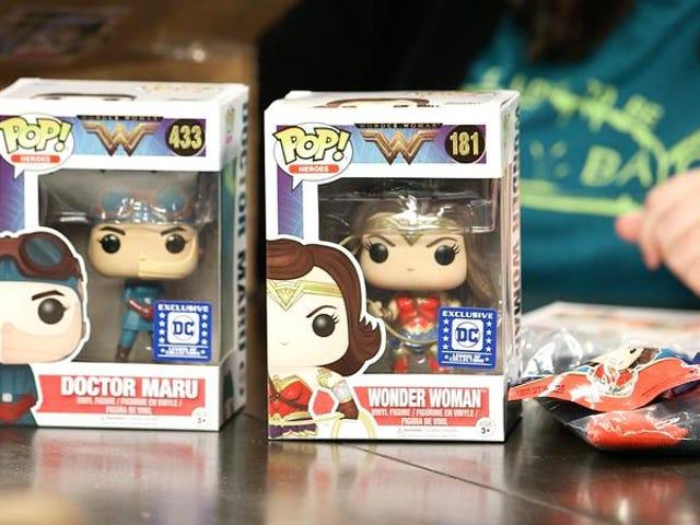 Diamo via questa scatola Funko a tema Wonder Woman
