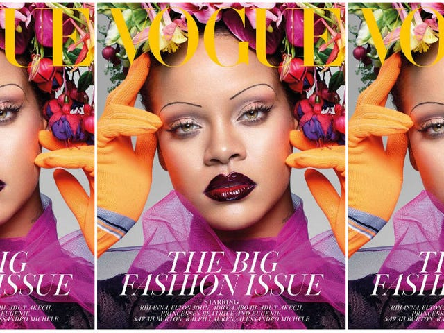 Take a Bow: Rihanna Is the 1st Black Woman to Grace the Cover of British Vogue's September Issue