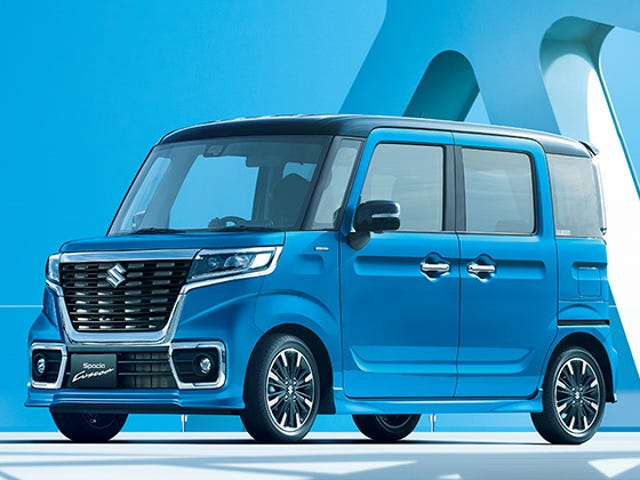OK, so this is weird... (hybrid kei car content)