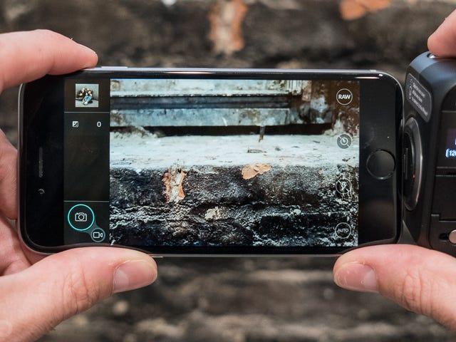 Bevestig een echte camera aan je iPhone voor de beste prijs ooit