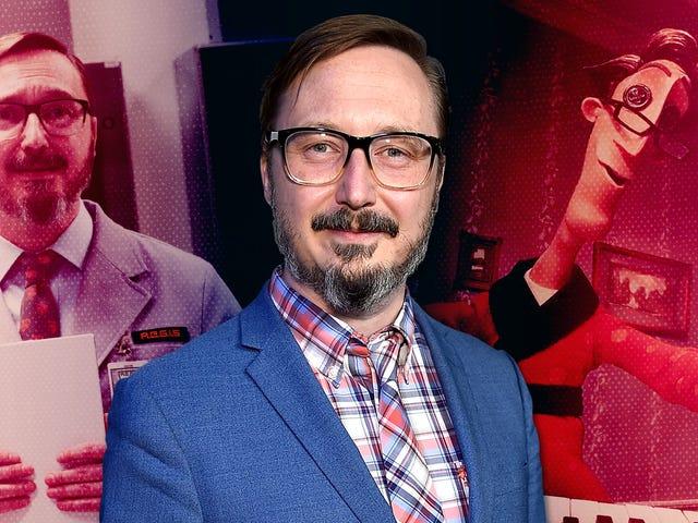 John Hodgman meraih Status Medali di atas sayap karier akting yang tidak disengaja