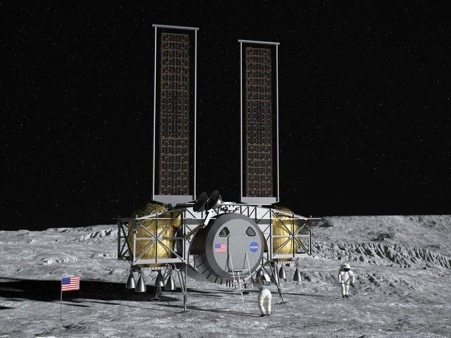 NASA vælger en af disse tre astronaut Lander-koncepter til 2024 Moon Mission