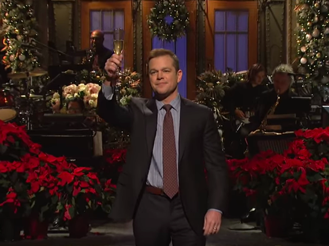 Matt Damon helps <i>Saturday Night Live</i> end 2018 on a warm and funny note