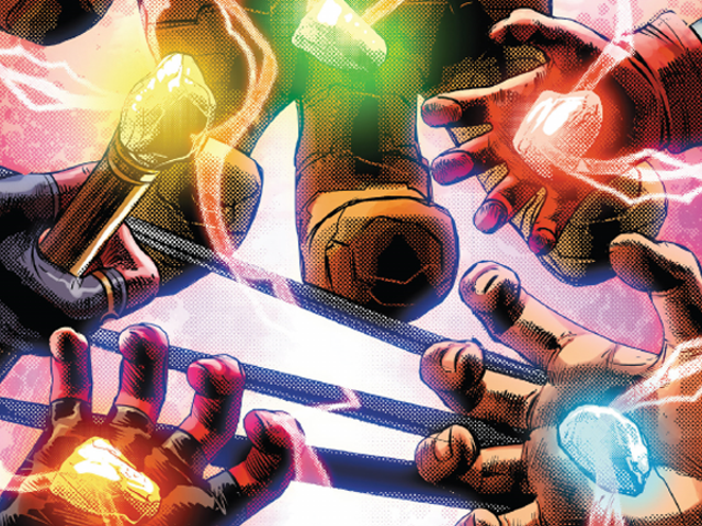 DC's Mightiest Mortal Gets a Sneaky Shout-Out in Marvel's Latest Cosmic Crossover