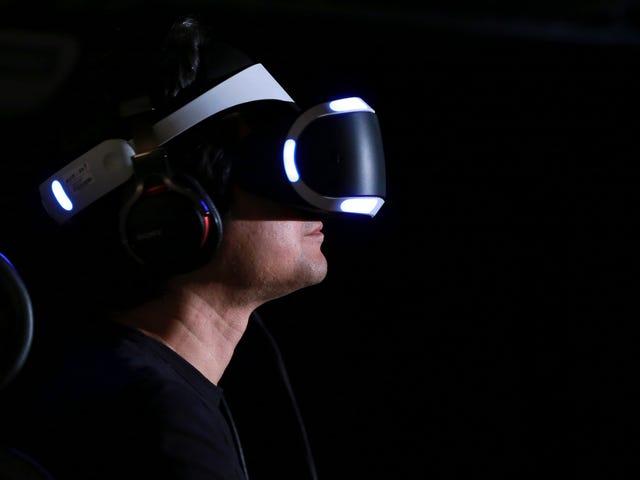 Sony är säker på att sälja många PlayStation VR-headset