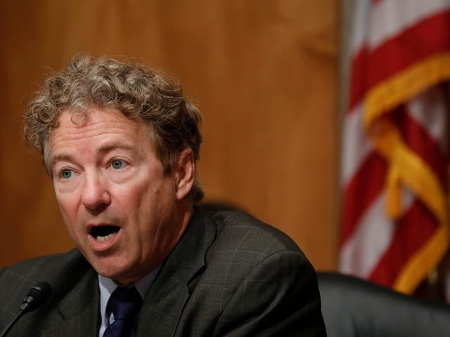 Rand Paul's Neighbor Gave Himself Second Degree Burns Setting an Errant Stick Pile on Fire