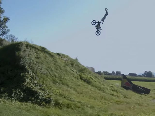 Freestyle Electric Motocross Is Action Packed Silence