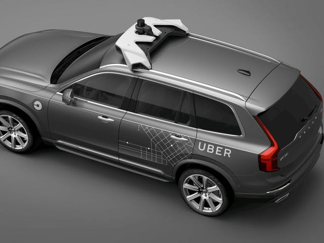 Uber Self-Driving Test Car Kills Pedestrian In Arizona
