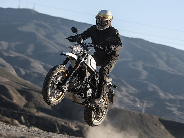 What Do You Want To Know About The 2018 Ducati Scrambler Desert Sled?