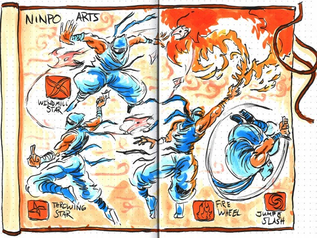 Hand-Drawn Strategy Guides Are Works Of Art