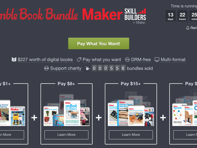 Scratch Your DIY Itch With Humble's Skill Builders Ebook Bundle