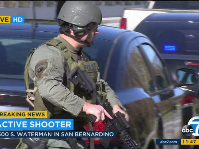14 Dead, 17 Wounded in San Bernardino Shooting, Two Suspects Killed, One Man and One Woman