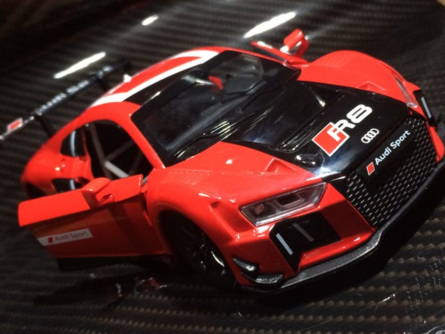 My local gas station has a diecast promo.. Audi R8.